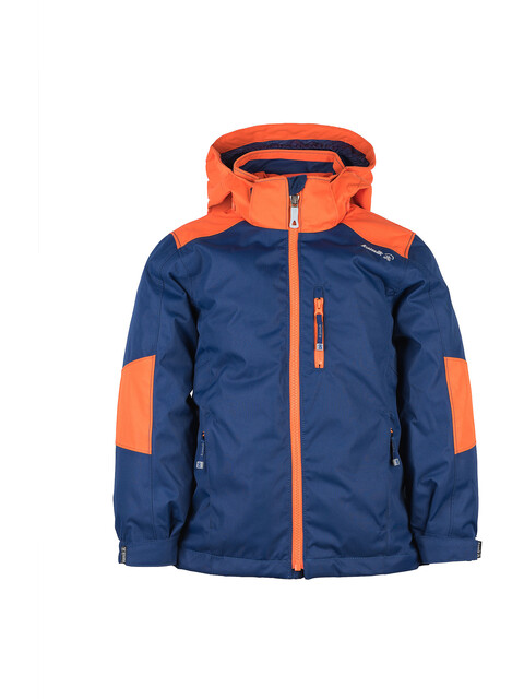 Kamik Chase 3in1 Down Jacket Kids Navy/Orange
